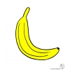 Disegno di Banana a colori