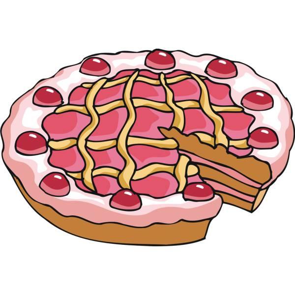 Disegno di Crostata a colori