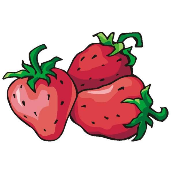 Disegno di fragole a colori per bambini - Immagini di marmellata di animali a colori ...