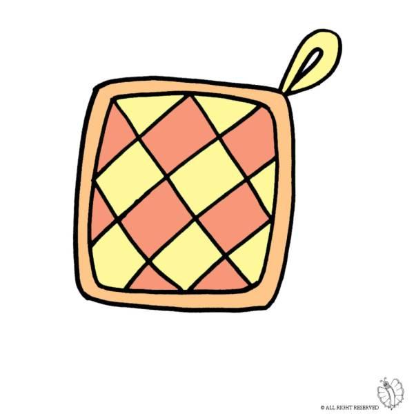 Disegno di Presina per Cucina a colori