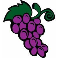 Disegno di Grappolo d'Uva a colori