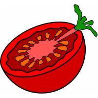 Disegno di Pomodoro a colori