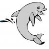 Disegno di Il Delfino a colori