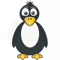 disegno di Pinguì a colori