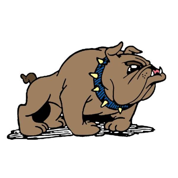 Disegno di Bulldog a colori