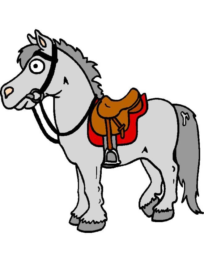 Amato Disegno di Cavallo a colori per bambini - disegnidacolorareonline.com YN74