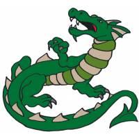 disegno di Dragon a colori