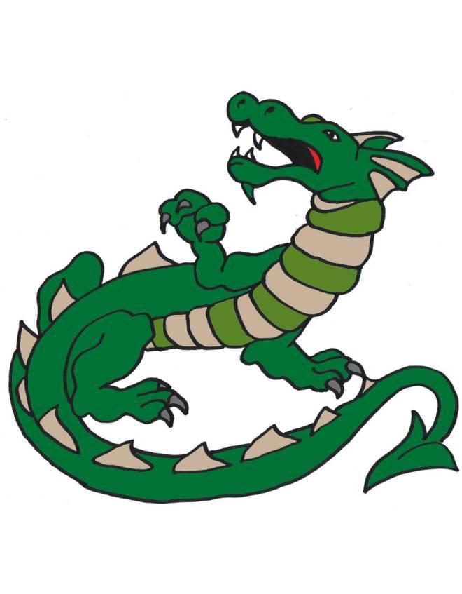 Preferenza Disegno di Dragon a colori per bambini - disegnidacolorareonline.com NN82