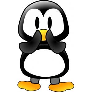 Disegno di il pinguino a colori per bambini gratis for Disegno pinguino colorato