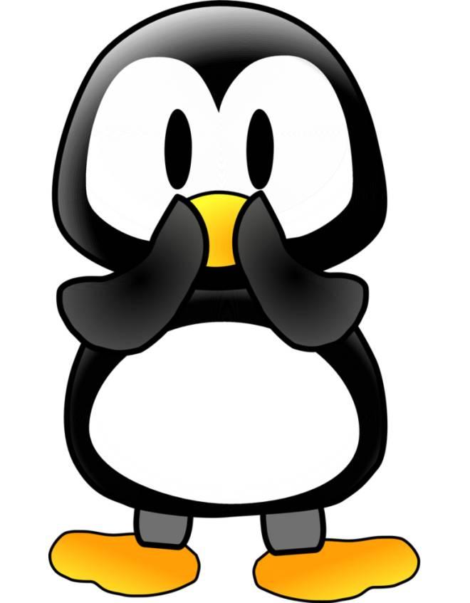 Disegno di il pinguino a colori per bambini for Disegno pinguino colorato