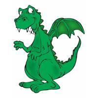 disegno di Il Drago a colori