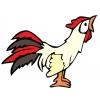 Disegno di Gallo a colori