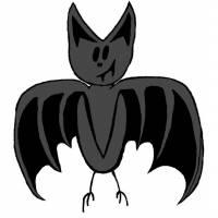Disegno di Pipistrello a colori