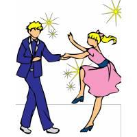 Disegno di Ballando con le Stelle a colori