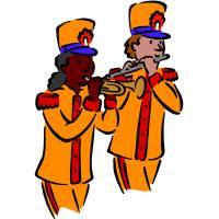 Disegno di Banda Musicale a colori