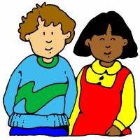 Disegno di Bambini a colori