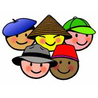 Disegno di Bimbi di Tutto il Mondo a colori