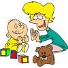 Disegno di Giochi per Bimbi a colori