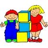 Disegno di Giochi a Scuola a colori