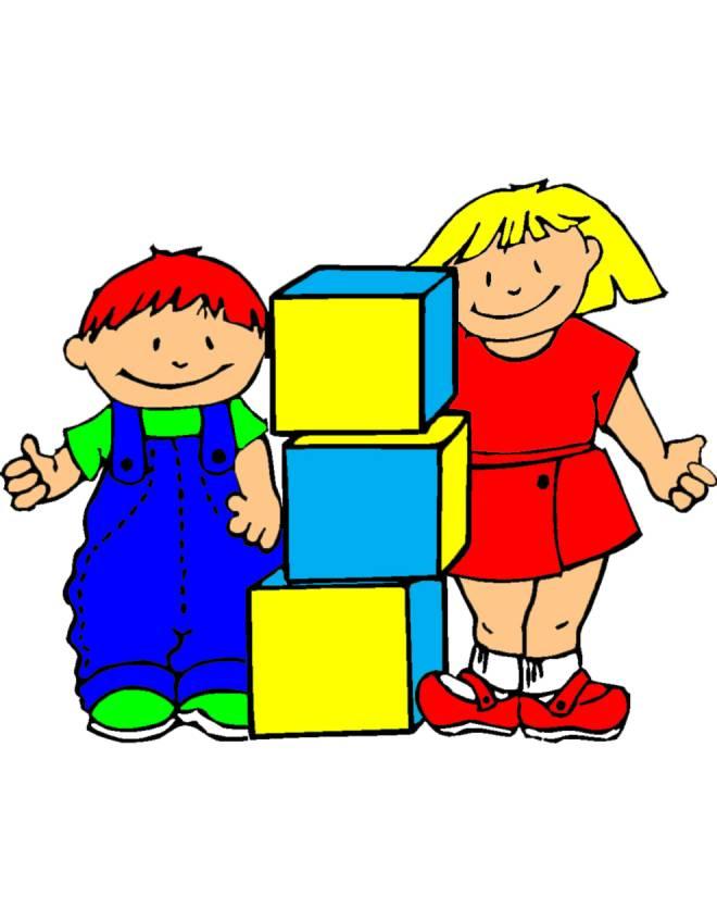Disegno di giochi a scuola colori per bambini
