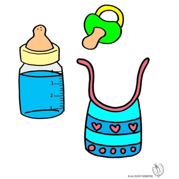 Disegno di Kit per Neonato a colori