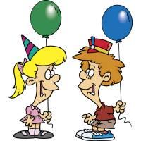 disegno di Festa con Palloncini a colori