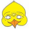 disegno di Maschera di Uccello a colori