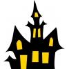 Disegno di La Casa Stregata a colori