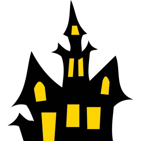 Disegno di la casa stregata a colori per bambini for Casa disegno