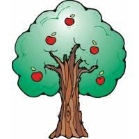 Disegno di Albero di mele a colori