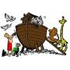 Disegno di Arca di Noè a colori