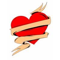 disegno di Cuore San Valentino a colori