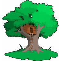 Disegno di Casa sull'Albero a colori