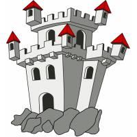 disegno di Il Castello a colori