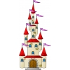 disegno di Il Castello con le Torri a colori