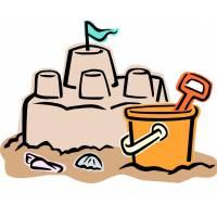 Disegno di Il Castello di Sabbia a colori