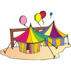 Disegno di il circo a colori per bambini gratis for Disegno pagliaccio colorato