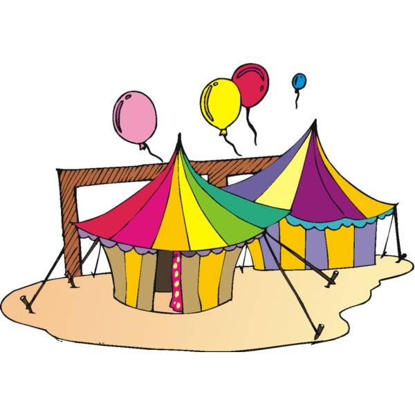 Disegno di Il Circo a colori
