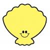 disegno di Conchiglia Sorridente a colori