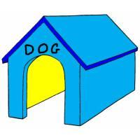 Disegno di Cuccia del Cane a colori