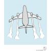 Disegno di Aeroplano a colori