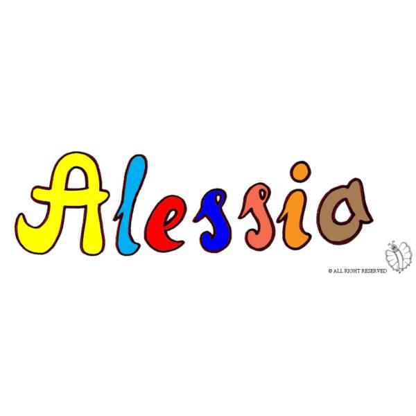 Disegno di Alessio a colori