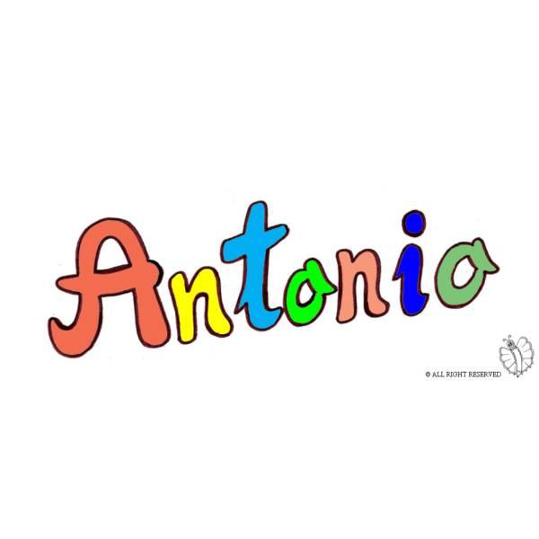Disegno di Antonio a colori