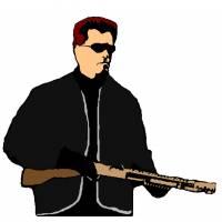 disegno di Arnold Schwarzenegger a colori