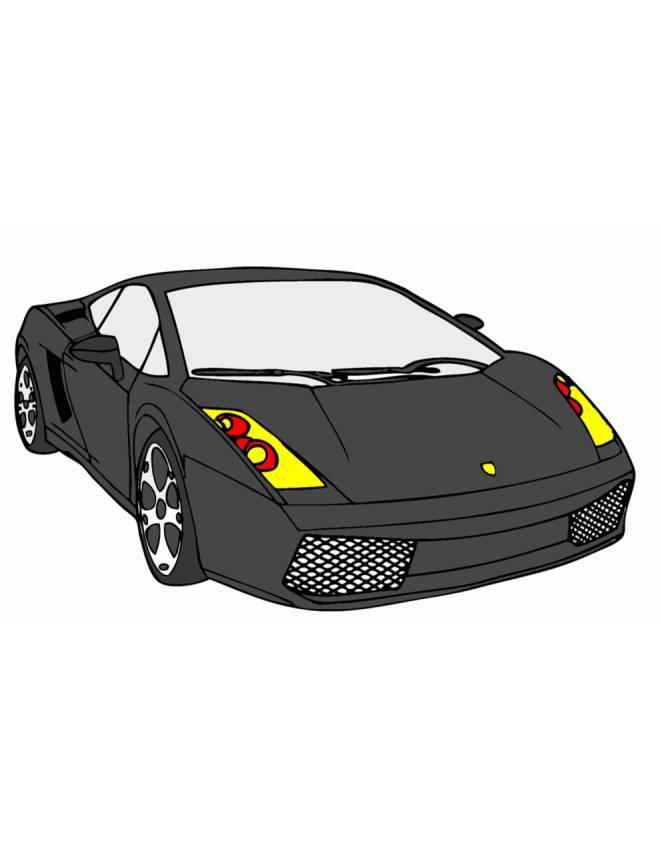 disegno di Auto di Lusso a colori
