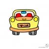 Disegno di Auto a colori