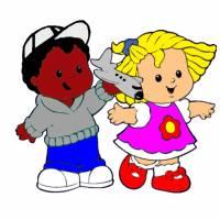 disegno di Bambini dell' Asilo a colori