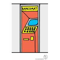 disegno di Bancomat a colori