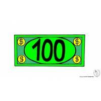 Disegno di Banconota Dollari a colori