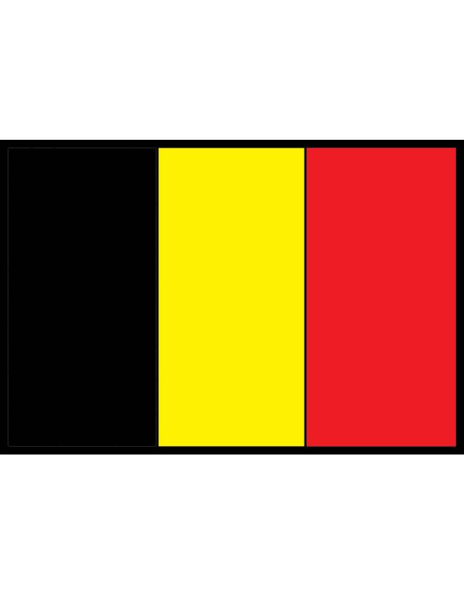 Disegno di bandiera del belgio a colori per bambini - Bandiere bianche a colori ...